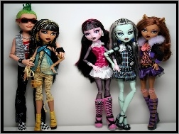Lalki, Monster High